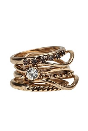 Stacked Rings on Trend Tuesday  Stacked Rings        I  Totally  Heart
